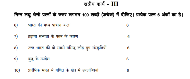IGNOU BHIC-101 Assignment in Hindi July 2020
